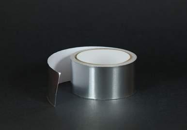 Алюминиевый скотч для дымохода